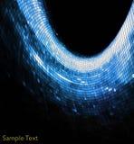 Geometric tech background. Tech background Stock Photo
