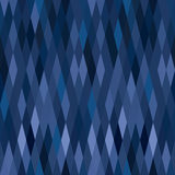 Geometric technical vector pattern. Blue harlequin argyle vector seamless pattern with diamonds Texture for print, textile, wrapping, website or invitation Stock Photos