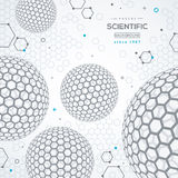 Geometric technology concept background Stock Image