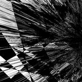 Geometric texture with edgy motif. Abstract shattered, rough pat Stock Image