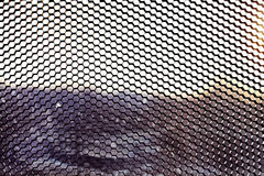 Geometric texture grille Royalty Free Stock Photos