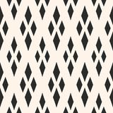Geometric texture with rhombuses. Traditional motif, argyle pattern. Vector geometric texture with rhombuses. Diamonds seamless pattern. Abstract monochrome Royalty Free Stock Image