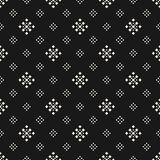 Geometric texture with tiny rhombuses. Dark minimalist pattern. Vector geometric texture with tiny rhombuses, squares. Abstract modern seamless pattern. Subtle Stock Photography