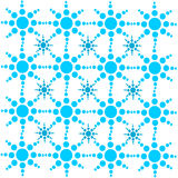 Geometric textures. The image is a geometric texuture made of circles Royalty Free Illustration