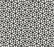 Geometric tile grid graphic seamless pattern. Vector stock illustration