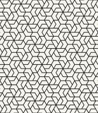 Geometric tile grid graphic seamless pattern vector. Background stock illustration