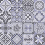 Geometric tile pattern stock photography