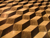 Geometric tiles. Geometric tile floor stock illustration