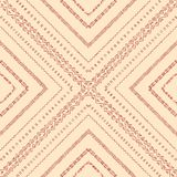 Geometric tiles of rhombuses. Seamless pattern. Royalty Free Stock Images
