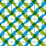 Geometric tiles seamless pattern. Royalty Free Stock Photos