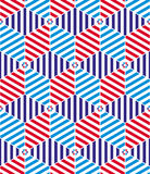 Geometric tiles seamless pattern. Stock Photos