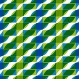 Geometric tiles seamless pattern. Stock Images