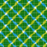 Geometric tiles seamless pattern, vector background. Stock Image