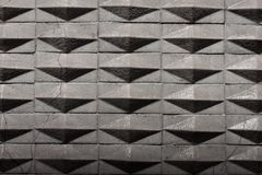 Geometric tiles texture background. With little cracks Royalty Free Stock Photo