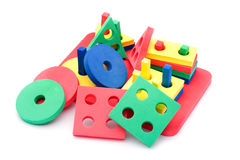 Geometric toy for children Stock Photo