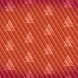 Geometric tree pattern Royalty Free Stock Photos