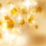Geometric triangle mosaic background. + EPS10 Stock Images