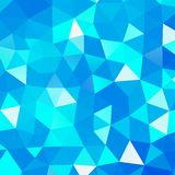 Geometric triangle mosaic background Royalty Free Stock Photo