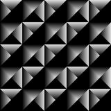 Geometric triangle seamless background. Triangle geometric dark seamless background Stock Image