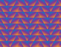 Geometric triangle seamless background. Triangle Geometric psychedelic seamless background Stock Image