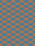 Geometric triangle seamless background. Triangle geometric psychedelic seamless background Stock Photos
