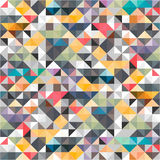 Geometric triangles abstract background. Vector ESP 10 stock illustration