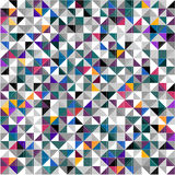 Geometric triangles abstract background. Vector ESP 10 royalty free illustration