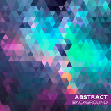 geometric triangles background. Royalty Free Stock Image