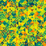 Geometric triangular seamless pattern Royalty Free Stock Image