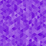 Geometric triangular seamless pattern Stock Photo