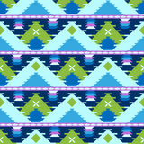 Geometric tribal pattern Royalty Free Stock Photography