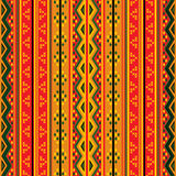 Geometric tribal pattern Stock Images
