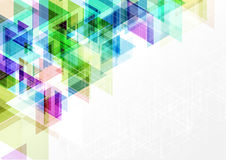 Geometric vector abstract background graphic design illustration.  Royalty Free Stock Photography