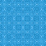 Geometric vector blue seamless pattern Stock Photography