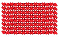 Geometric vector heart pattern. Valentines day background. Red background with geometric vector heart pattern. Valentines day Illustration EPS 10 royalty free illustration