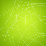 Geometric vector pattern,curves and nodes Royalty Free Stock Photography
