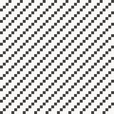 Geometric vector pattern repeating small square shape pixel in rounded corners in cross linaer. Graphic clean for fabric,