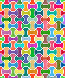 Geometric Vector Pattern. Seamless Background Royalty Free Stock Photos