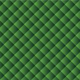 Geometric vector texture: background of green squares arranged diagonally. Royalty Free Stock Photography