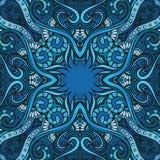Geometric vector various strips motifs Stock Image