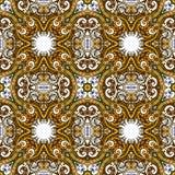 Geometric vector various strips motifs Royalty Free Stock Photos
