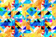 Geometric VIII - abstract geometric design Stock Photos