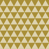 Geometric vintage background of triangles. Stock Photography