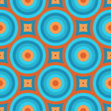 Retro Wallpaper Seamless Pattern Royalty Free Stock Image