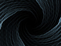 Geometric Vortex Royalty Free Stock Image
