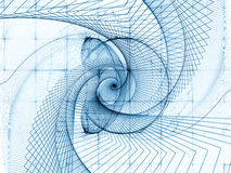 Geometric Vortex Royalty Free Stock Photos