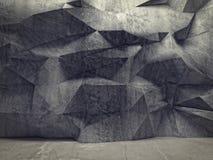 Geometric wall Royalty Free Stock Photo