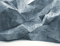Geometric wall Stock Images
