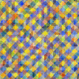 Geometric watercolor pattern Stock Photo