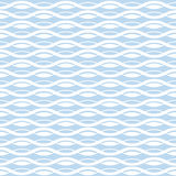 Geometric wave seamless pattern background Royalty Free Stock Photography